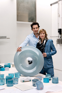 11. Stefan Scholten & Carole Baijings with the first casting of