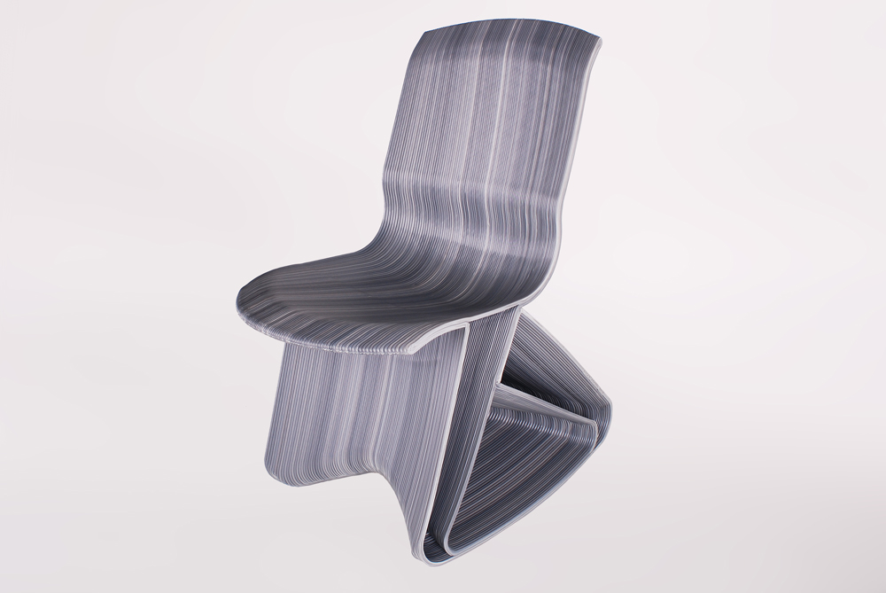 Endlessflow stuhl dutch living wir lieben und leben for Stuhl design holland