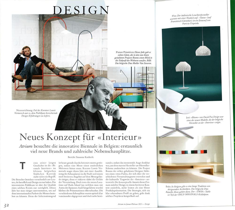 Stories und events artikel ber dutch design week 2012 for Design artikel